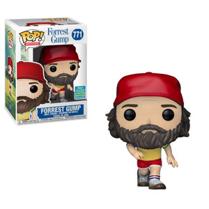 Funko Pop! Movies: Forrest Gump (Beard) (SDCC) #771 - Popular Collectibles | Popu!ar Collectibles