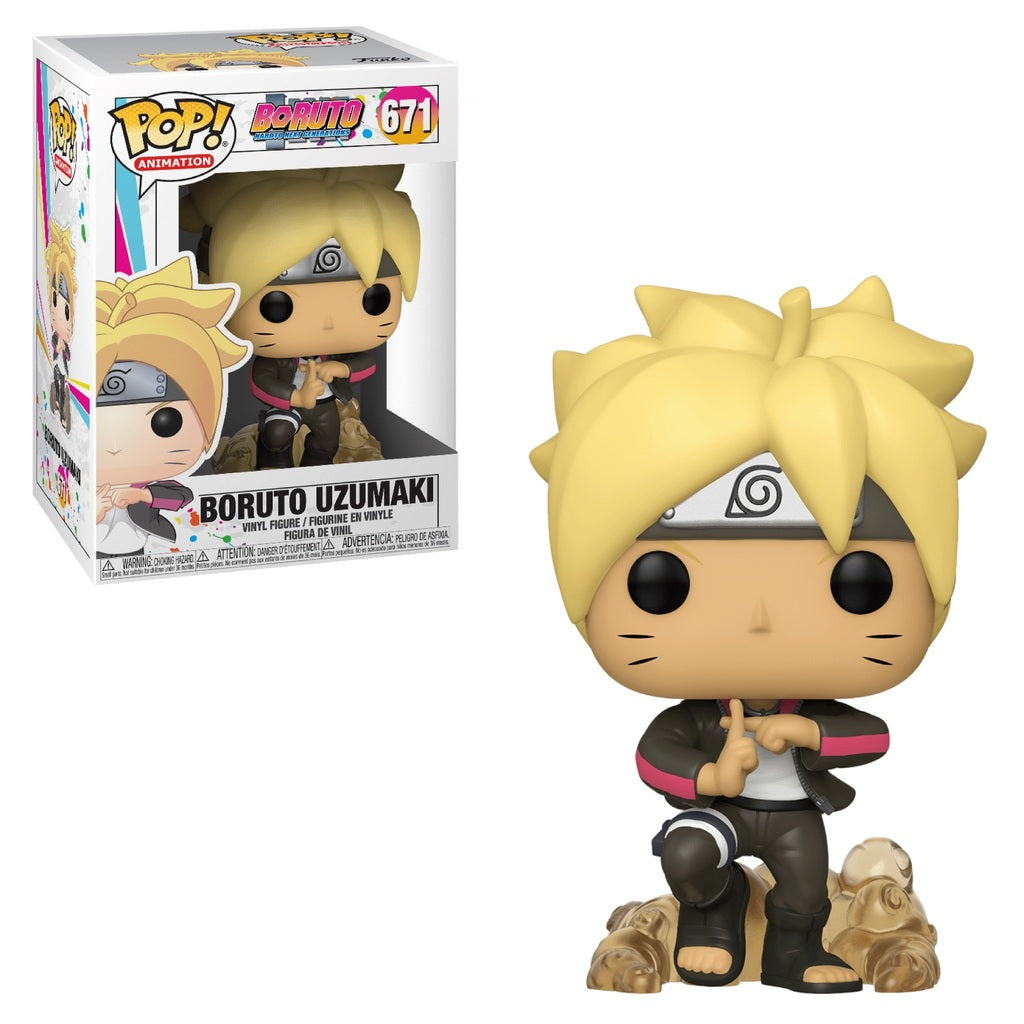 Funko Pop! Animation: Boruto - Boruto Uzumaki #671 - Popu!ar Collectibles