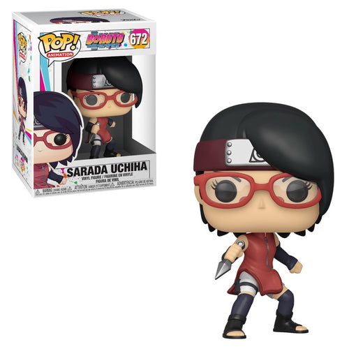 Funko Pop! Animation: Boruto - Sarada Uchiha #672 - Popu!ar Collectibles