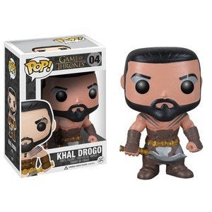 Funko Pop! Television: Game of Thrones - Khal Drogo #04 (Autographed) - Popular Collectibles | Popu!ar Collectibles