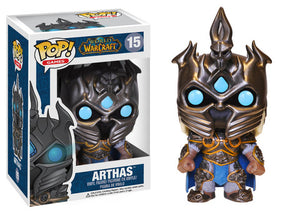 Funko Pop! Games: World of Warcraft - Arthas #15 - Popu!ar Collectibles