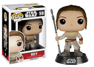 Funko Pop! Star Wars - Rey #58 - Popu!ar Collectibles