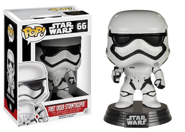 Funko Pop! Star Wars - First Order Stormtrooper #66 - Popu!ar Collectibles