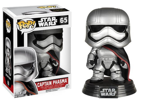 Funko Pop! Star Wars - Captain Phasma #65 - Popu!ar Collectibles