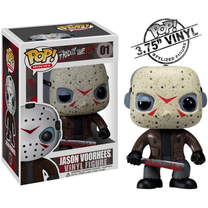 Funko Pop! Movies: Friday the 13th - Jason Voorhees #01 - Popular Collectibles | Popu!ar Collectibles