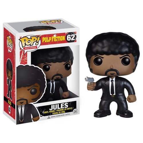 Funko Pop! Movies: Pulp Fiction - Jules #62 - Popu!ar Collectibles