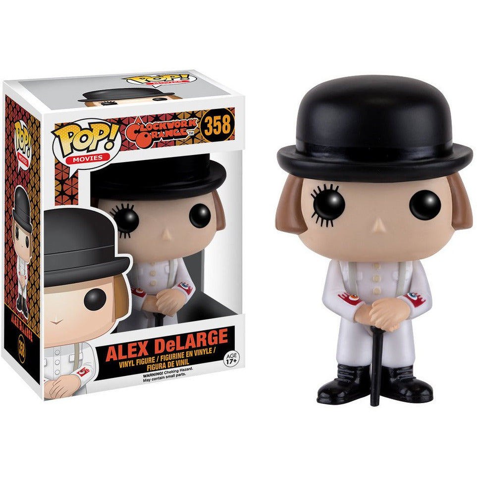 Funko Pop! Movies: Clockwork Orange - Alex DeLarge #358 - Popu!ar Collectibles
