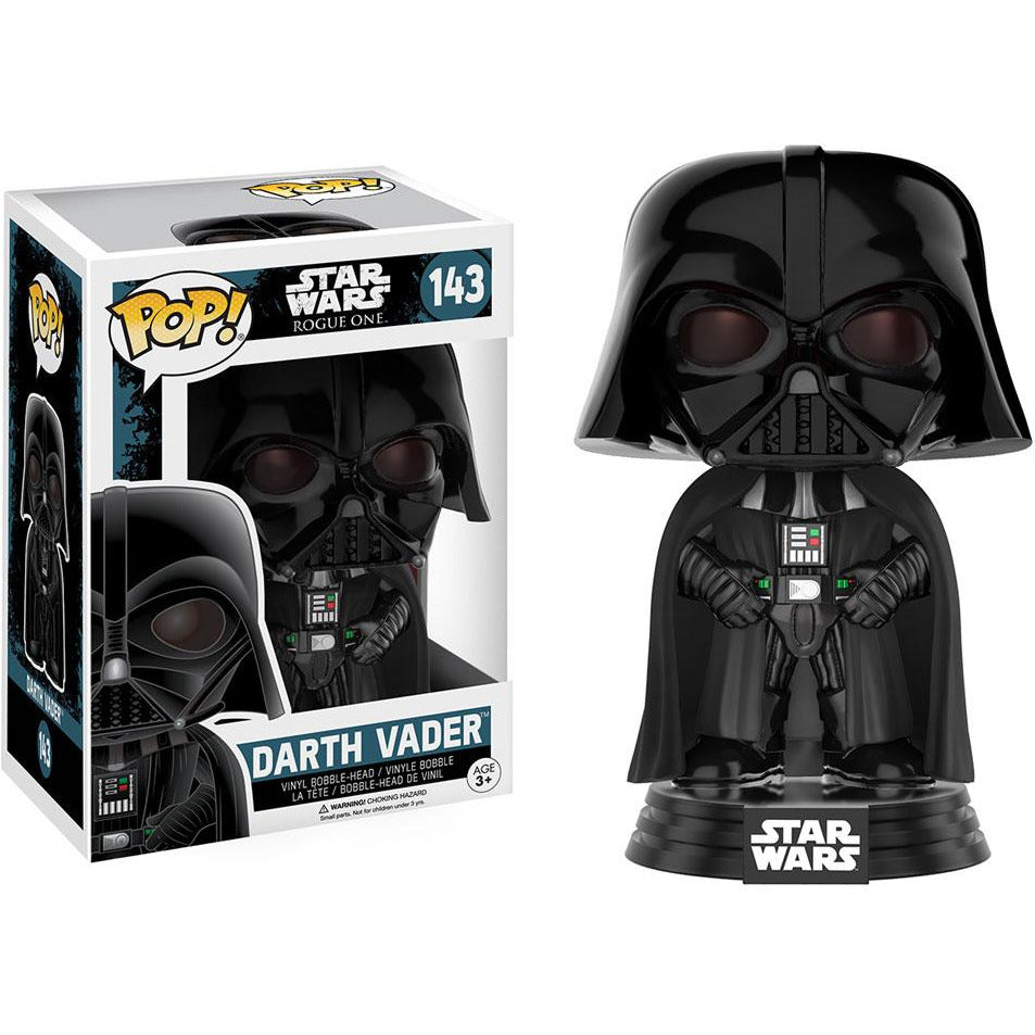 Funko Pop! Star Wars - Darth Vader (Rogue One) #143 - Popu!ar Collectibles