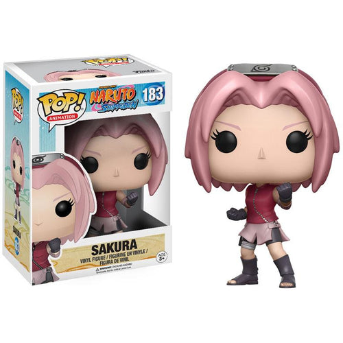 Funko Pop! Animation: Naruto - Sakura #183 - Popu!ar Collectibles
