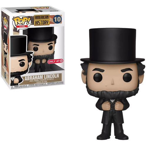 Funko Pop! Icons: American History - Abraham Lincoln  (Target Exclusive) #10 - Popu!ar Collectibles