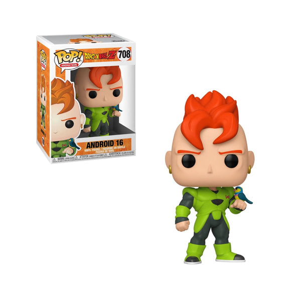 Funko Pop! Animation: Dragon Ball Z - Android 16 #708