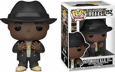 Funko Pop! Rocks: Notorious B.I.G. with Fedora #152 - Popu!ar Collectibles