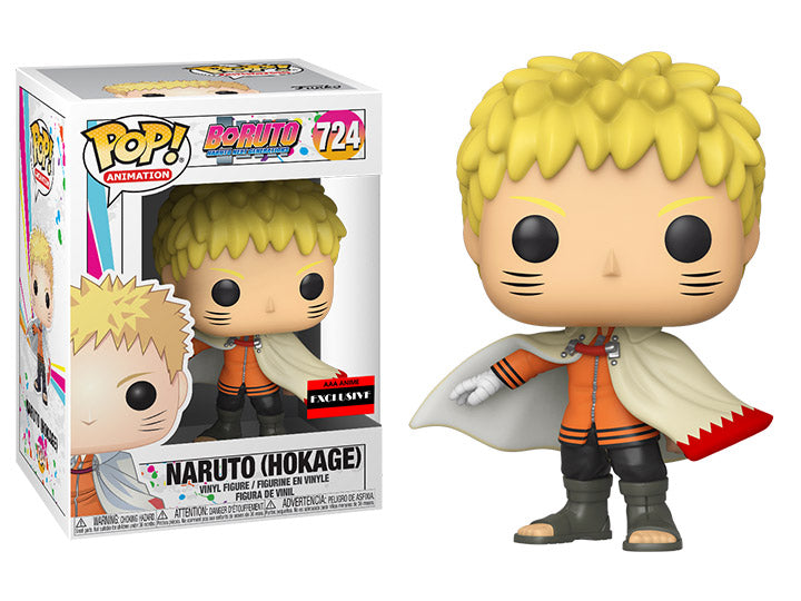 Funko Pop! Animation: Boruto - Naruto Next Generations - Naruto Hokage  (AAA Exclusive) - Popu!ar Collectibles