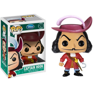 Funko Pop! Disney: Captain Hook #26 - Popu!ar Collectibles