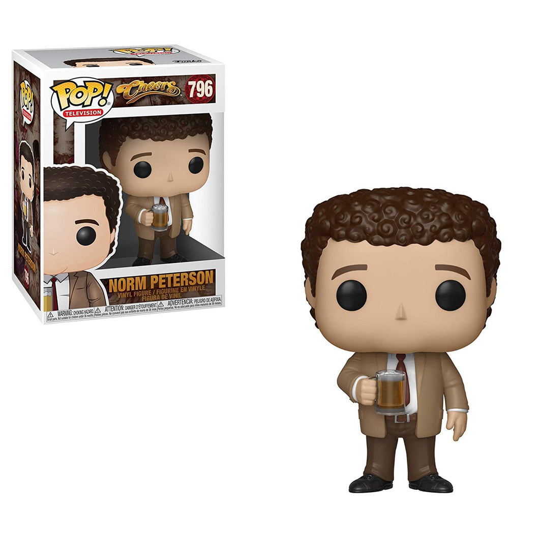 Funko Pop! Television: Cheers - Norm Peterson #796 - Popular Collectibles | Popu!ar Collectibles