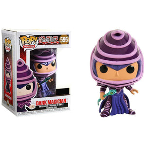 Funko Pop! Animation: Yugioh - Dark Magician (Hot Topic Exclusive) #595 - Popu!ar Collectibles