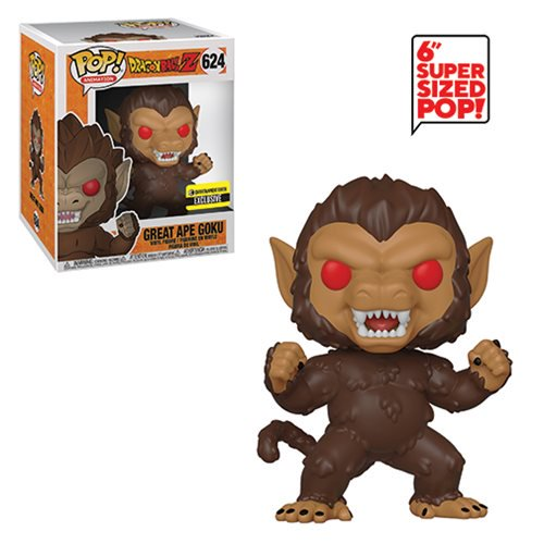 Funko Pop! Dragon Ball: Great Ape Goku 6-Inch Pop! (Entertainment Earth Exclusive) #624 - Popu!ar Collectibles