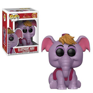Funko Pop! Disney: Aladdin - Elephant Abu #478 - Popu!ar Collectibles