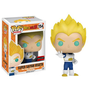 Funko Pop! Animation: Dragon Ball Z - Super Saiyan Vegeta  (Exclusive) #154 - Popu!ar Collectibles