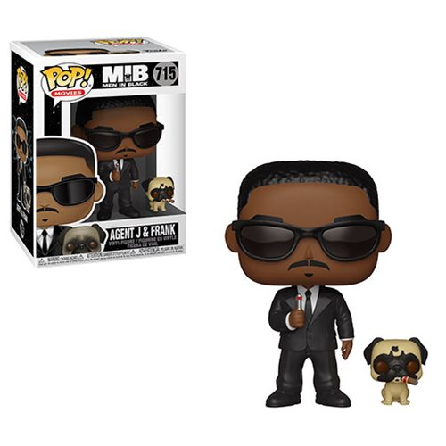 Funko Pop! Movies: Men in Black - Agent J and Frank #715 - Popu!ar Collectibles