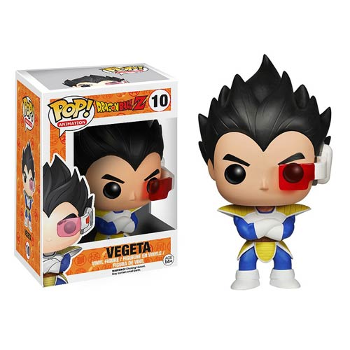 Funko Pop! Animation: Dragon Ball Z - Vegeta #10 - Popu!ar Collectibles