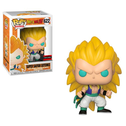 Funko Pop! Animation: Dragon Ball Z - Super Saiyan 3 Gotenks Exclusive #622 - Popu!ar Collectibles
