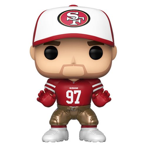 Funko Pop! Sports: 49ers - Nick Bosa #132 - Popu!ar Collectibles