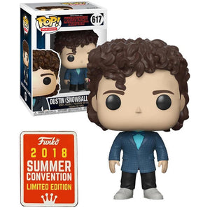 Funko Pop! Television: Stranger Things - Dustin (Snowball Dance) #617 - Popular Collectibles | Popu!ar Collectibles