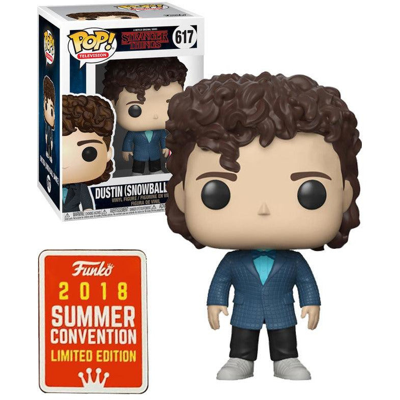 Funko Pop! Television: Stranger Things - Dustin (Snowball Dance) #617 - Popu!ar Collectibles