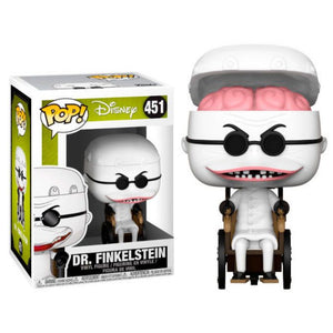 Funko Pop! Disney: Nightmare Before Christmas - Dr. Finkelstein #451 - Popular Collectibles | Popu!ar Collectibles