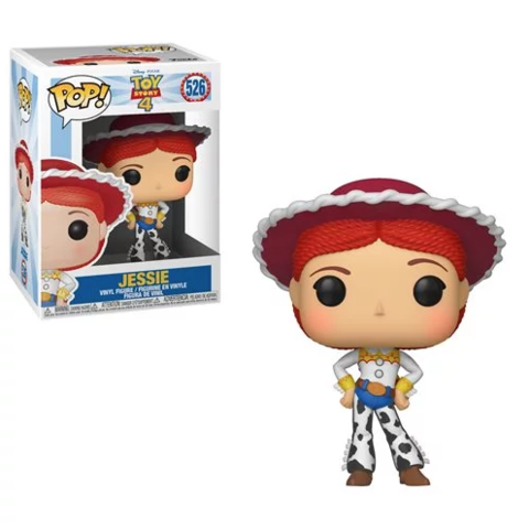 Funko Pop! Disney: Toy Story 4 - Jessie #526 - Popu!ar Collectibles