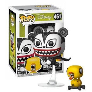 Funko Pop! Disney: Vampire Teddy w/ Undead Duck #461 - Popu!ar Collectibles