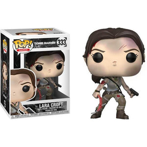 Funko Pop! Games: Tomb Raider Lara Croft #333 - Popu!ar Collectibles