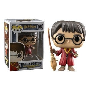 Funko Pop! Harry Potter (Quidditch) #08 - Popu!ar Collectibles