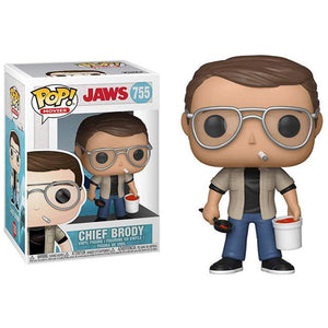 Funko Pop! Movies: Jaws - Chief Brody #755 - Popu!ar Collectibles