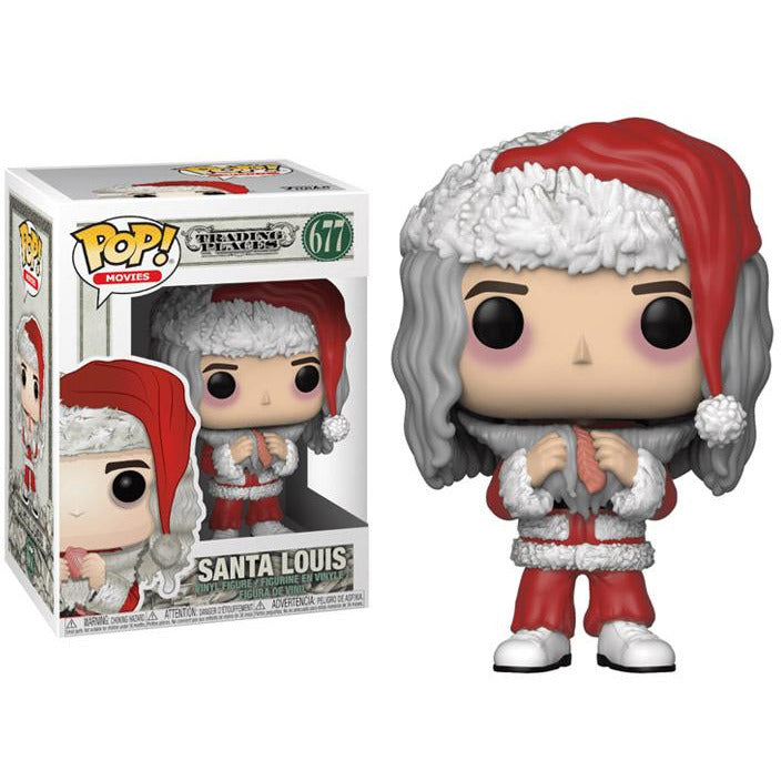 Funko Pop! Movies: Trading Places - Santa Louis #677 - Popu!ar Collectibles