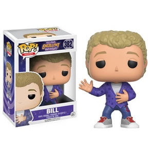 Funko Pop! Movies: Bill & Ted's Excellent Adventure - Bill #382 - Popu!ar Collectibles