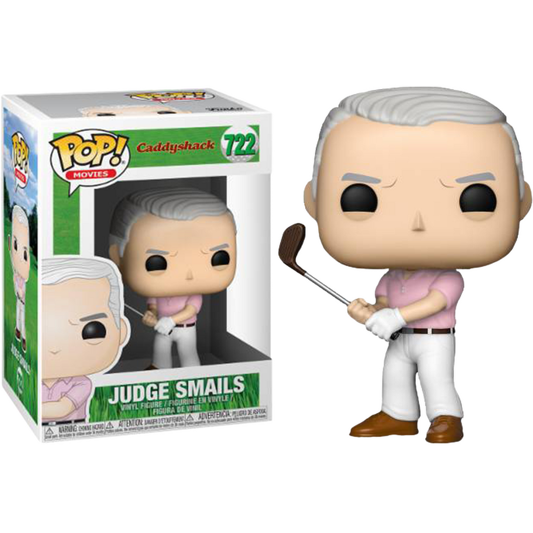 Funko Pop! Movies: Caddyshack - Judge Smails #722 - Popu!ar Collectibles