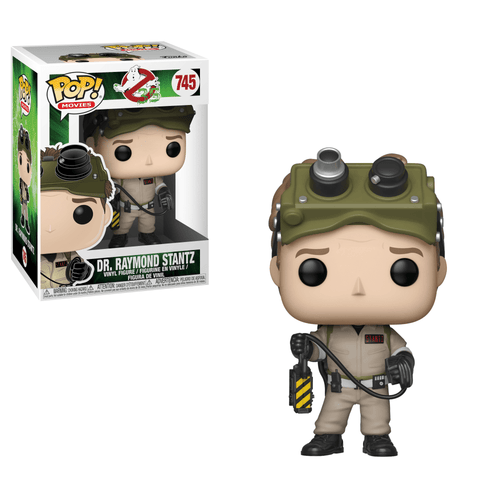 Funko Pop! Movies: Ghostbusters - Dr. Raymond Stantz #745 - Popu!ar Collectibles