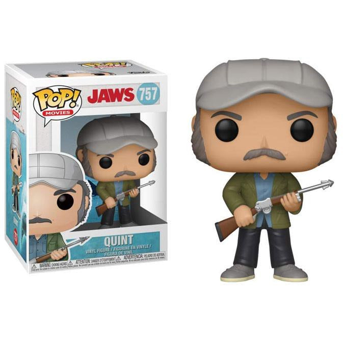 Funko Pop! Movies: Jaws - Quint #757 - Popu!ar Collectibles