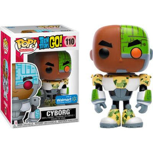 Funko Pop! Television: Teen Titans Go! Cyborg (Walmart Exclusive) #110 - Popu!ar Collectibles