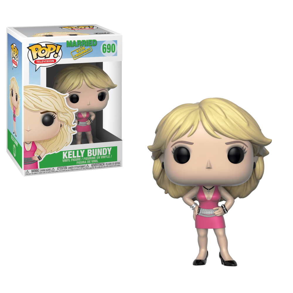 Funko Pop! Television: Married with Children - Kelly Bundy #690 - Popu!ar Collectibles