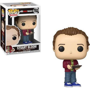 Funko Pop! Television: Big Bang Theory - Stuart Bloom #782 - Popu!ar Collectibles