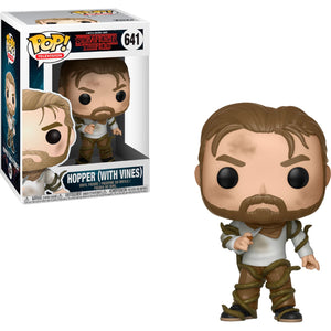 Funko Pop! Television: Stranger Things - Hopper (With Vines) #641 - Popu!ar Collectibles