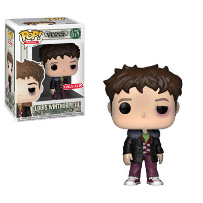 Funko Pop! Movies: Trading Spaces - Louis Winthorpe III (Beat Up) (Target Exclusive) #678 - Popu!ar Collectibles
