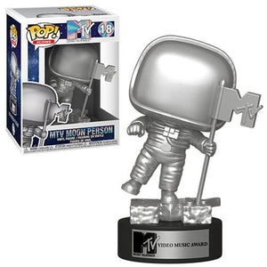 Funko Pop! Icons: MTV Moon Person #18 - Popu!ar Collectibles