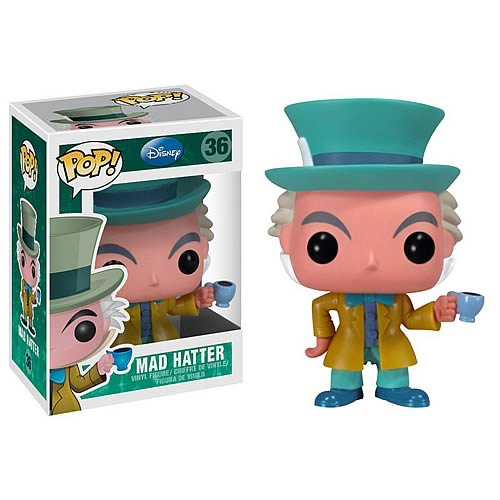 Funko Pop! Disney: Mad Hatter #36 - Popu!ar Collectibles