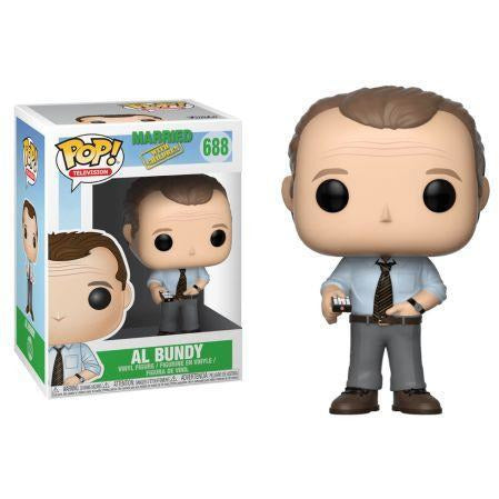 Funko Pop! Television: Married with Children - Al Bundy #688 - Popu!ar Collectibles