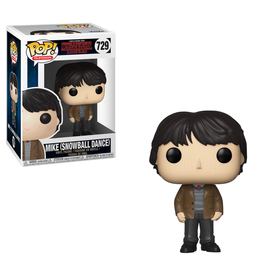Funko Pop! Television: Stranger Things - Mike (Snowball Dance) #729 - Popu!ar Collectibles