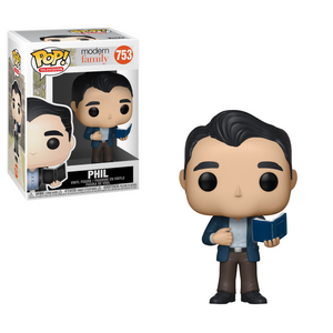 Funko Pop! Television: Modern Family - Phil #753 - Popu!ar Collectibles